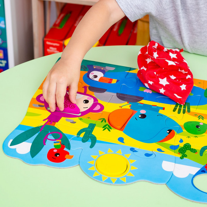 Пазли «Fisher Price. Maxi puzzle & Wooden pieces»