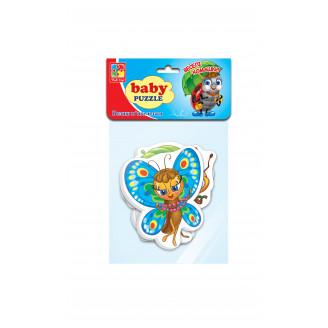 Бебі пазли «Веселі комашки»
