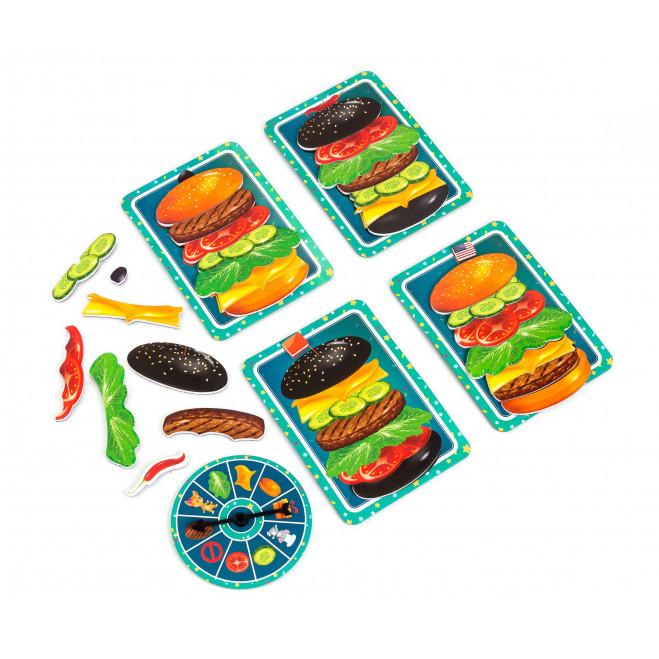 Гра магнітна «Бургер»